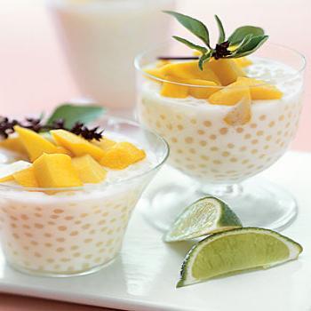 Perles de Tapioca à la mangue