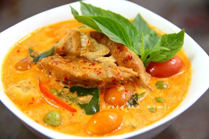 Gaeng Massaman plat au curry