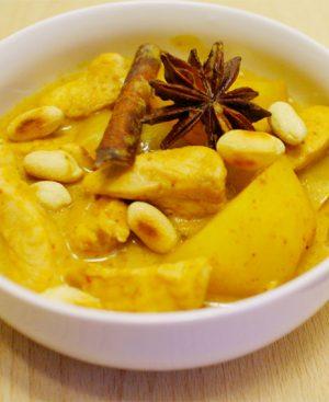 Mijoté de boeuf ou poulet au curry massaman